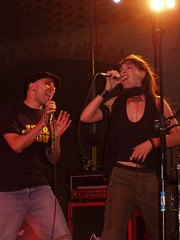 Holly e Eva   live (giorgiochiesa) Tags: eva live corte holly poles collecchio rezophonic giarola