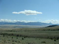 Madison River Valley, Montana (Martin LaBar) Tags: blue sky cloud mountain mountains beautiful clouds landscape montana horizon valley lovely madisonriver madisonrivervalley