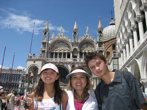 The Dupuis Family in Venice
