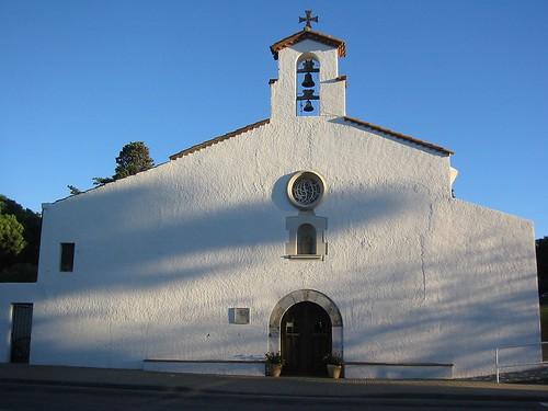 Llançà, Port de Llançà, Catalonia, Spain - Esglesia de Santa Maria del Port