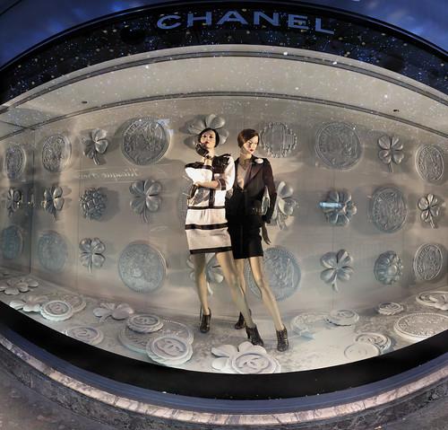 Vitrine de Noël - Galeries Lafayette - 13-12-2008 - 8h53