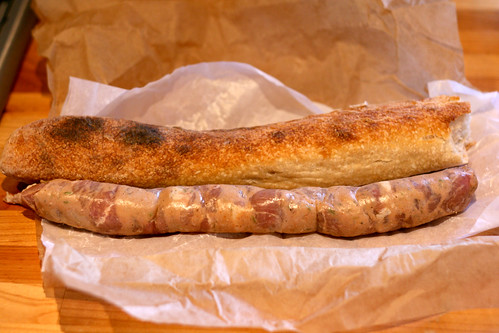 Sausage and Bread - Wild Caper