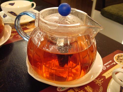 藍莓水果茶