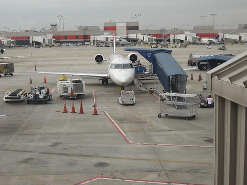 1st airplane trip