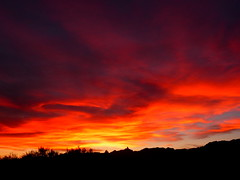 fire in the sky (Marlis1) Tags: sunset red clouds spain naturesfinest elsports extremesunset weatherphotography marlis1