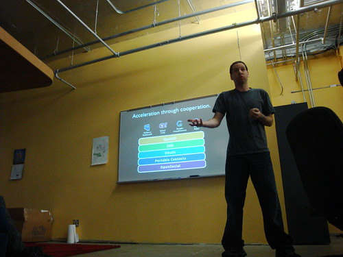 Eran Hammer at the Open Stack Meetup