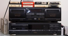 Magnavox CDB-610 CD Player from 1990 (bottom)