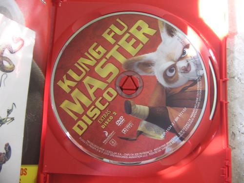 DVD Duplo Kung Fu Panda - Disco de extras