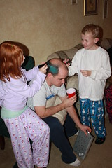 Maddie and Steve-O Coloring Kevin's Hair