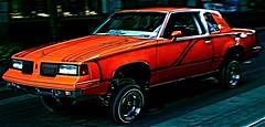 High Roller (Nick Hamel) Tags: orange car portland hydrolics pimpmobile