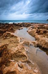 calblanque rocas (SanchezCastillejo) Tags: playa tormenta rocas calblanque castillejo