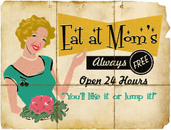 Eat at Mom's (Theresa Thompson) Tags: me retro halftone artlibre thelookofpressprinted