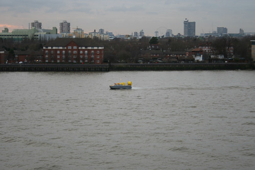 Hovercraft on the Thames
