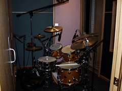 Drums in the booth... R&B