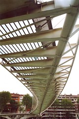 Ponte Calatrava Bilbao (Teocat) Tags: bridge spain bilbao ponte calatrava euskadi bilbo spagna paesi baschi