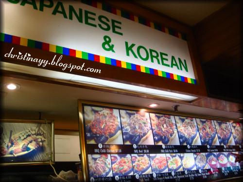 Chinatown Sydney: Japanese & Korean Food