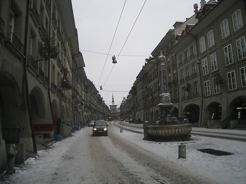 Main street in Bern