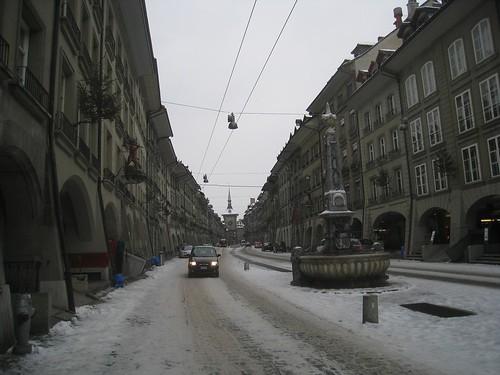 Main street in Bern