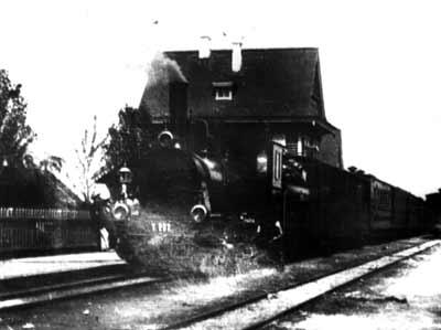 Прибытие поезда на станцию Житомир
