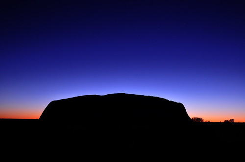 The Rock Tour - Uluru sunrise