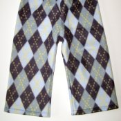 Fleece Weekender Pants *Argyle* 2T