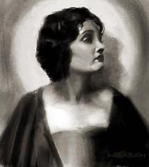 Gloria Swanson portrait