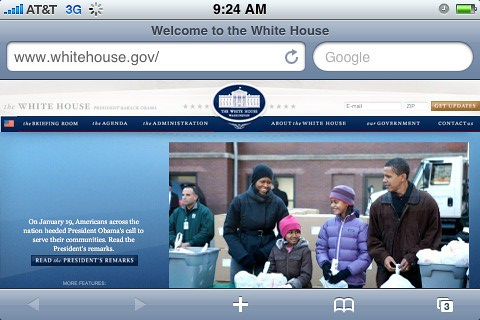 Change has come to whitehouse.gov