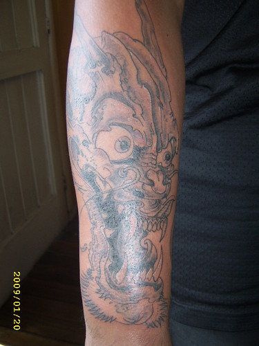 dragon chino tattoo