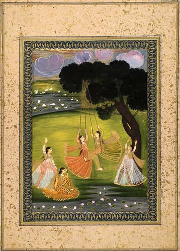 024- Pintura india siglos XVIII- XIX