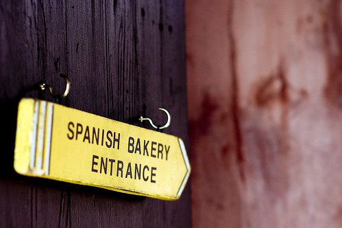 spanish bakery entrance