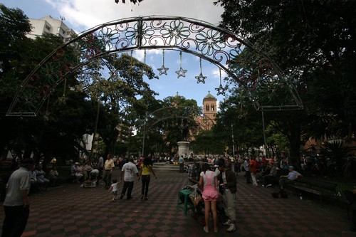 Parque Simón Bolívar, Medellín...