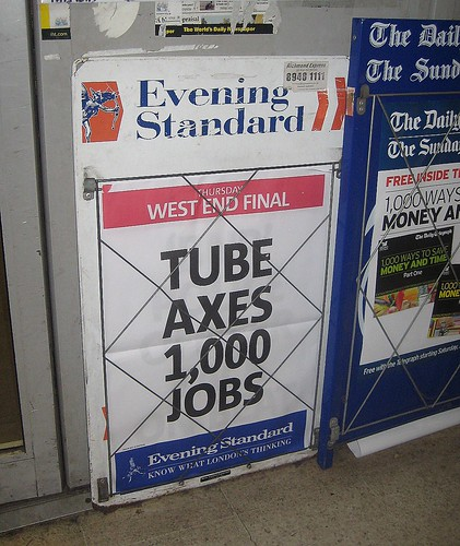 Tube Cuts 1,000 Jobs  by Annie Mole
