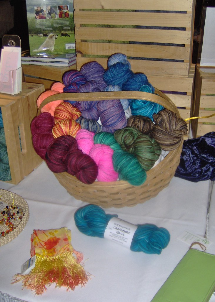 Dome Hill Yarns at the Studio market