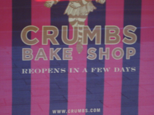 Crumbs 42nd Street is Closed