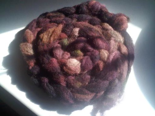 Kettle Dyed Cashmere-Finn Roving