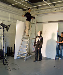 ElkY Feature - Setup (Photosmudger) Tags: lighting portrait london magazine studio flash location poker setup behindthescenes strobe lightroom bowens strobist
