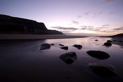 IMG_2663 (matthewpesce) Tags: ocean morning beach water sunrise purple nz southisland