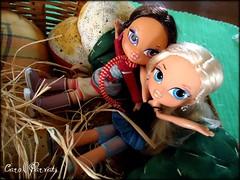 Yasmin and Aleera (Carol Parvati ) Tags: winter vacation movie doll yasmin kidz bratz cloe aleera carolparvati