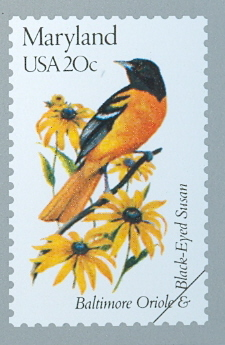 Maryland State Stamp