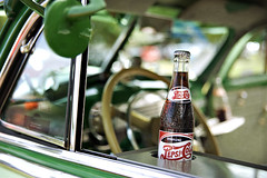 Pepsi Cola Classic......... (Michael Brooking Photography) Tags: cruise usa dice cold green classic cars chevrolet love car wheel graffiti mirror cool nikon fifties dof steering drink bokeh pop chevy american pepsi soda pepsicola refreshing automobiles d700 michaelbrookingphotography