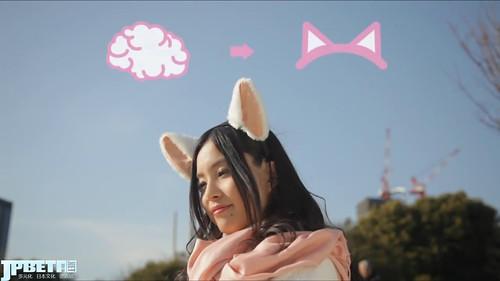 【视频】喜怒哀乐全写于耳朵,萌死人不偿命『脑电波猫耳』诞生