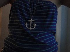 Restless (alunchables) Tags: necklace stripes anchor