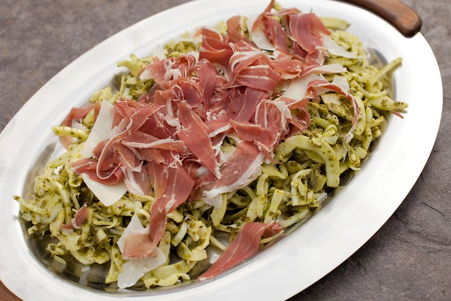 Fennel slaw with pistachio parsley thyme pesto prosciutto di parma this recipe comes from giada de laurentiis who happens to be one of only about three food network chefs that i trust anymore i mean really the channel forumfinder Image collections