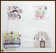 Versão colorida...rsrsrsrs (Cantinho da Aracy) Tags: bordado nófrancês pontocheio pontoatrás pontohaste