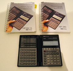 Hewlett Packard 28S RPN Calculator (sophist1cated) Tags: hp calculator hewlett packard scientific upn rpn 28s