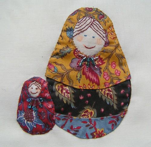 matroushka quiltje
