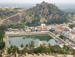 Temple tank at Shravanabelagola