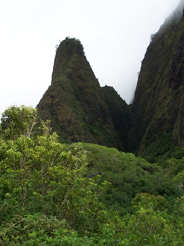 The 'Iao Needle at 'Iao Valley State Park