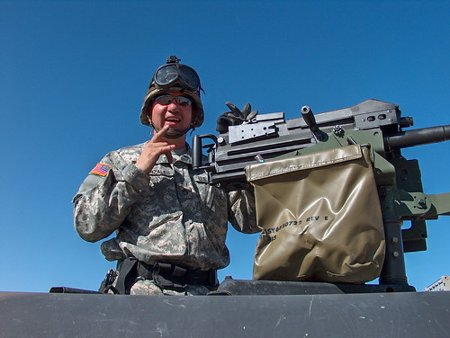 SSG Julian on his MK-19