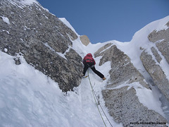 The Come Again exit, Mt. Hunter, Alaska (Mountain Hardwear) Tags: alaska climbing mountaineering alpinism mountainhardwear kahiltna mthunter freddiewilkinson